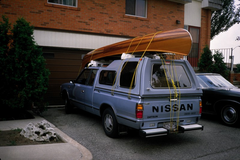 1986: Cedar Strip Canoe